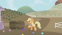 Applejack colored apples S1E05