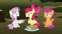 Cutie Mark Crusaders in complete shock S8E10