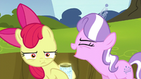 Diamond Tiara shouting -the worst cutie mark ever!- S5E4
