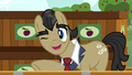 Filthy Rich winks at Applejack and Big Mac S6E23.png