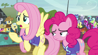 Fluttershy --I don't know if we can win-- S6E18