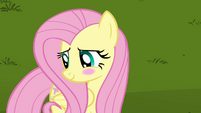Fluttershy cute blush S03E10