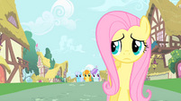 Fluttershy running away S1E20