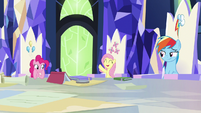 Fluttershy volunteers for the mission S9E4