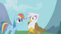 Gilda surprised at Rainbow Dash S1E5.png
