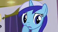 Minuette tries to change the subject S5E12