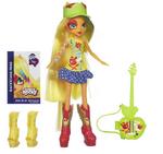 Muñeca de Applejack con accesorios Equestria Girls Rainbow Rocks
