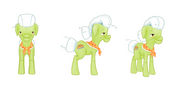 My little pony mobile game Granny Smith Model