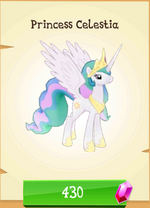 Princess Celestia MLP Gameloft