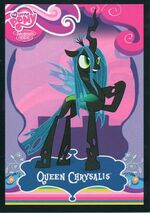 Queen Chrysalis trading card