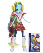 Rainbow Dash Equestria Girls Rainbow Rocks doll