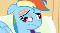 Rainbow Dash wakes up S2E16