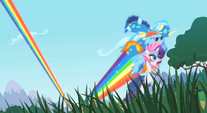 Rainbow saving Rarity and the Wonderbolts S1E16