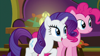 "Rarity ""it's almost time!"" S6E12"