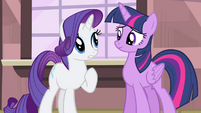 Rarity 'on my own!' S4E13