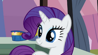 Rarity happy over her success S3E2