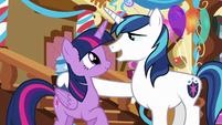 "Shining Armor ""there's still a prize"" S5E19"