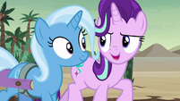 Starlight Glimmer -like a buddy movie- S8E19