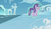 Starlight floating toward the cloud's edge S5E25