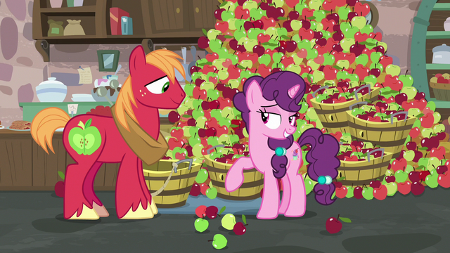 "File:Sugar Belle ""thanks for coming all this way"" S7E8.png"