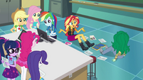 """Sunset Shimmer """"I didn't see you come in"""" EGFF"""