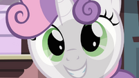 Sweetie Belle's face S3E04