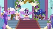 The four Equestrian princesses S03E13
