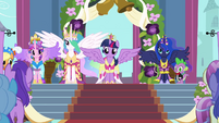 The four Equestrian princesses S03E13