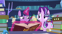 "Twilight Sparkle ""if the Pillars can hold open"" S7E26"