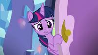 Twilight entering Spike's bedroom S8E24