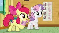 "Apple Bloom ""we haven't tried cryin' yet"" S8E12"
