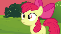 Apple Bloom realizing S4E15