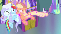 Applejack starts flying uncontrollably MLPS2