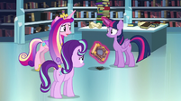 "Cadance ""Do you think you can remember the spell?"" S6E2"
