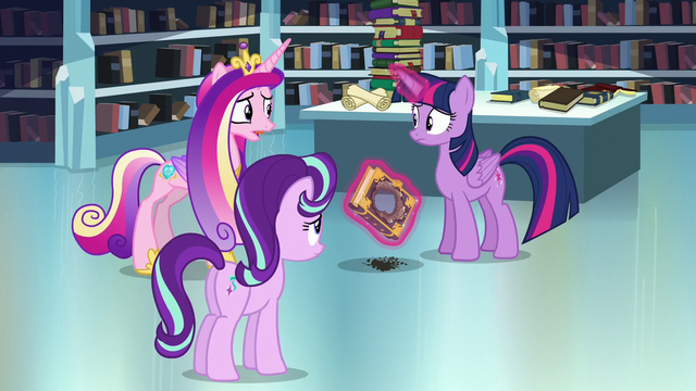 """File:Cadance """"Do you think you can remember the spell?"""" S6E2.png"""