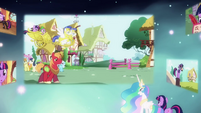 "Celestia singing ""to see how you might grow"" S03E13"