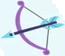 Crystal Arrow cutie mark crop S3E01