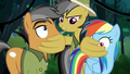 Daring covers Rainbow and Quibble's mouths S6E13.png