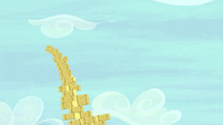 Hay bale stack teetering S5E6