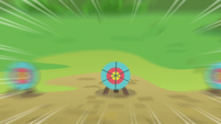 Incoming archery target S7E21