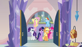 Main six arrive at the spa S03E12.png