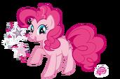 Pinkie Pie by mantiburi