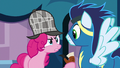Pinkie Pie staring at Soarin S7E23.png