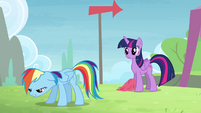 Rainbow 'I guess some ponies do' S4E10