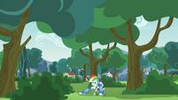 Rainbow Dash being a spy EG3