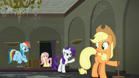 Rarity --living in my boutique!-- S6E9
