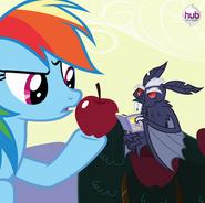 S4E07 Rainbow Dash i owocowy nietoperz