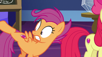 Scootaloo looking at her adult body S9E22