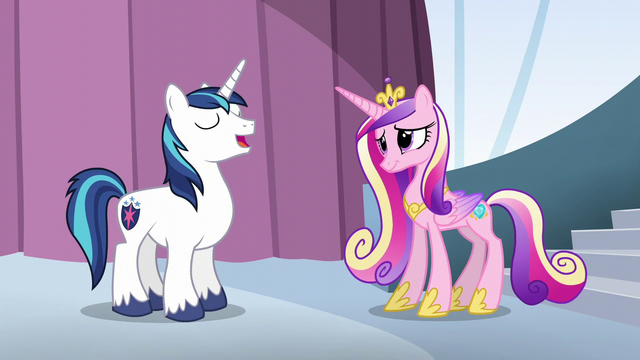 """File:Shining Armor """"I know exactly who I want"""" S6E1.png"""