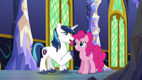 "Shining Armor ""wait just a little bit longer"" S5E19"